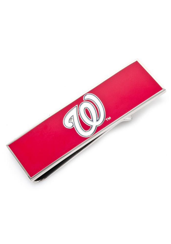 Washington Nationals Silver Plated Mens Money Clip - Image 2