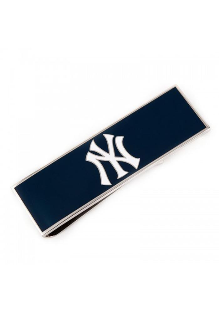 New York Yankees Silver Plated Mens Money Clip - Image 2