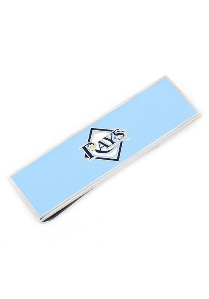 Tampa Bay Rays Silver Plated Mens Money Clip - Image 2