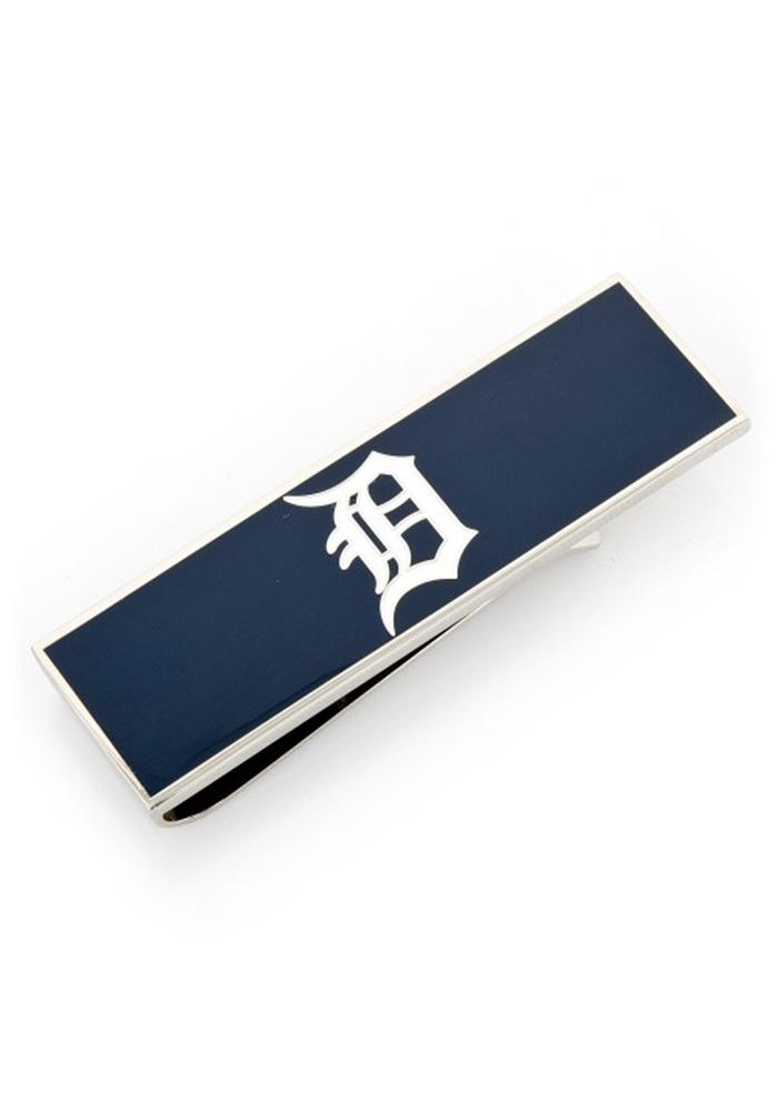 Detroit Tigers Silver Plated Mens Money Clip - Image 2