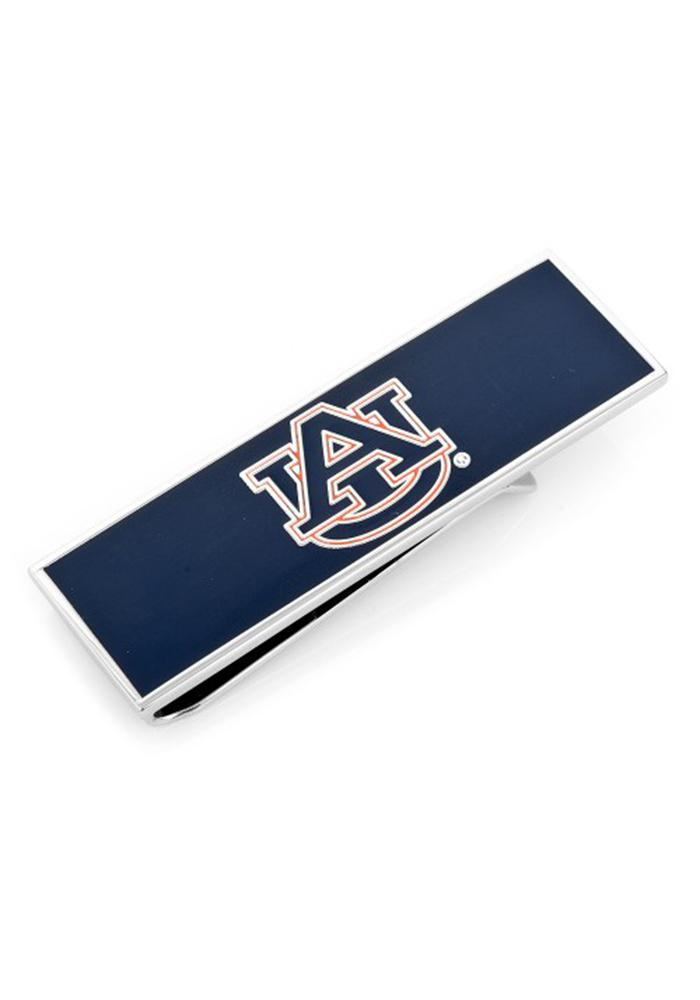 Auburn Tigers Silver Plated Mens Money Clip - Image 2