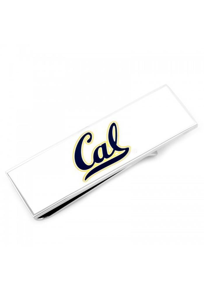 Cal Golden Bears Silver Plated Mens Money Clip - Image 2