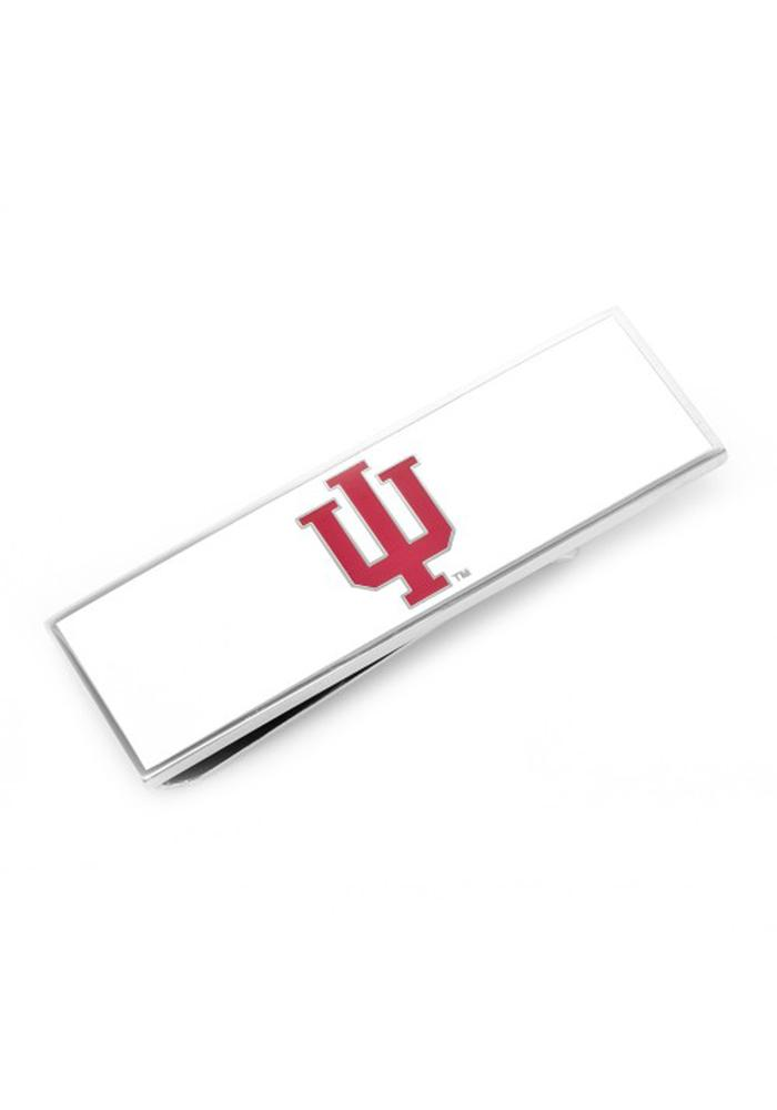 Indiana Hoosiers Silver Plated Mens Money Clip - Image 2
