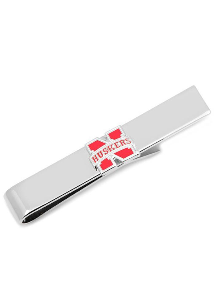 Nebraska Cornhuskers Silver Plated Mens Money Clip - Image 2