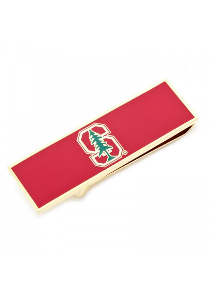 Stanford Cardinal Silver Plated Mens Money Clip - Image 2