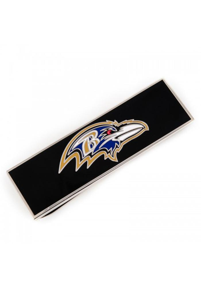 Baltimore Ravens Silver Plated Mens Money Clip - Image 2