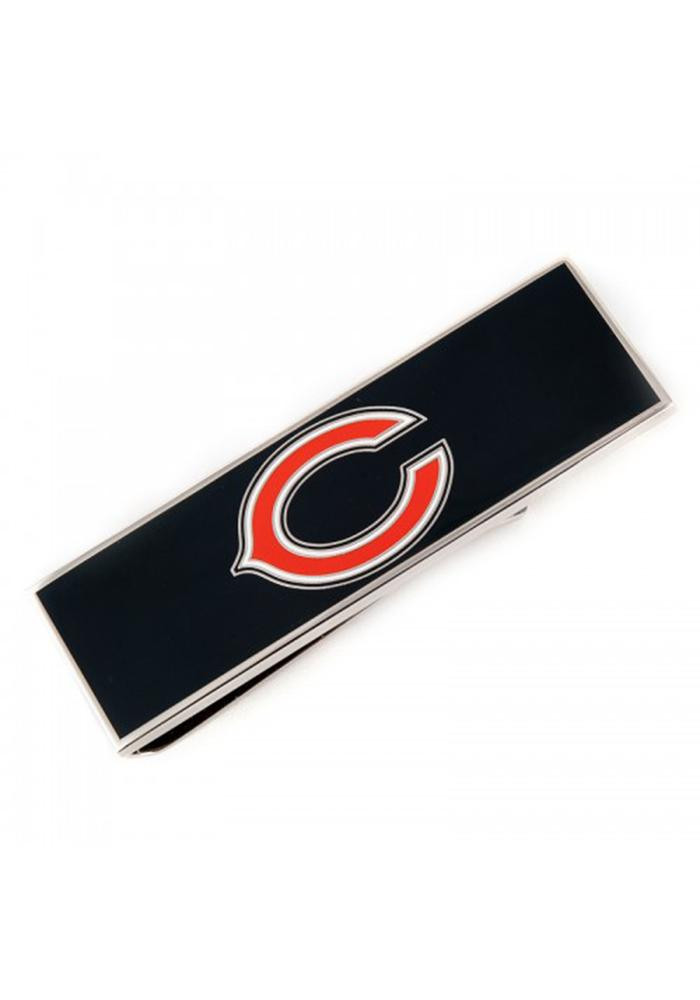 Chicago Bears Silver Plated Mens Money Clip - Image 2