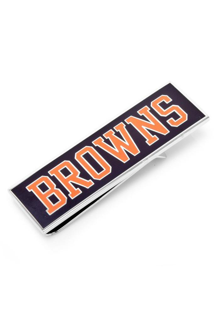 Cleveland Browns Silver Plated Mens Money Clip - Image 2