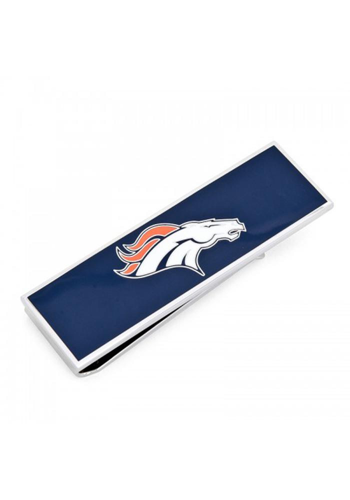 Denver Broncos Silver Plated Mens Money Clip - Image 2