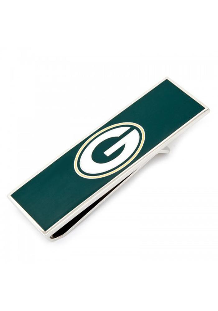 Green Bay Packers Silver Plated Mens Money Clip - Image 2
