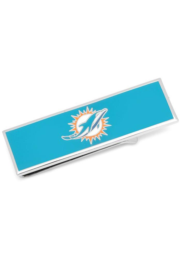 Miami Dolphins Silver Plated Mens Money Clip - Image 2