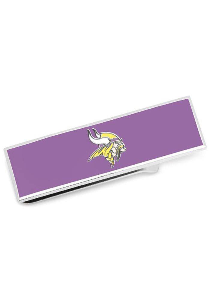 Minnesota Vikings Silver Plated Mens Money Clip - Image 2