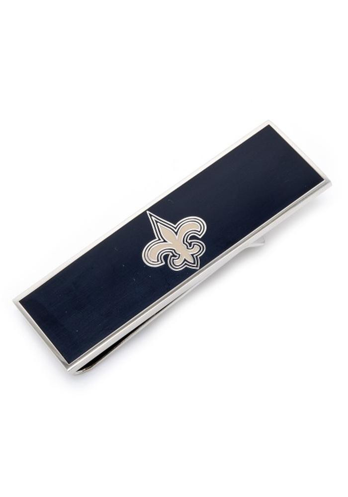 New Orleans Saints Silver Plated Mens Money Clip - Image 2