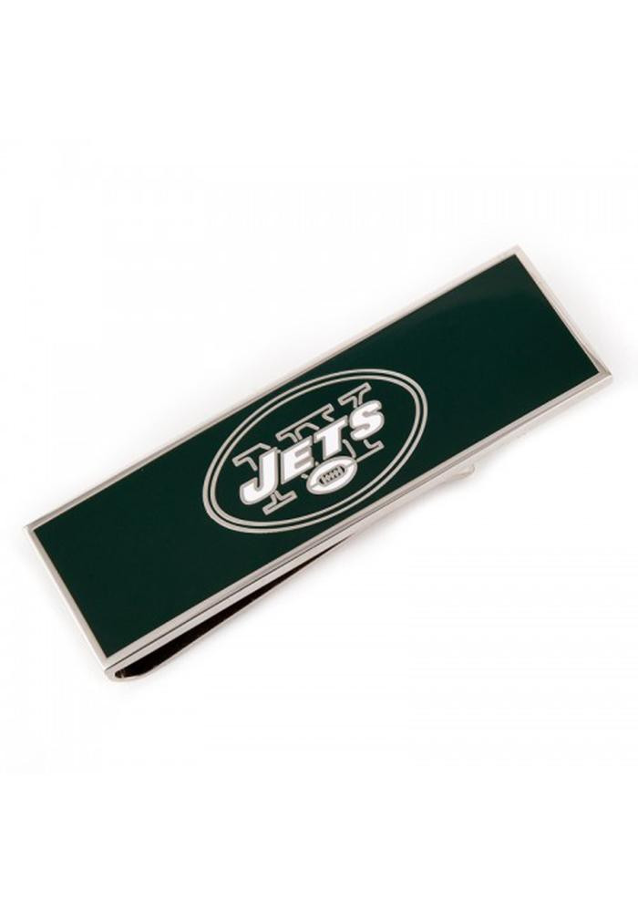 New York Jets Silver Plated Mens Money Clip - Image 2
