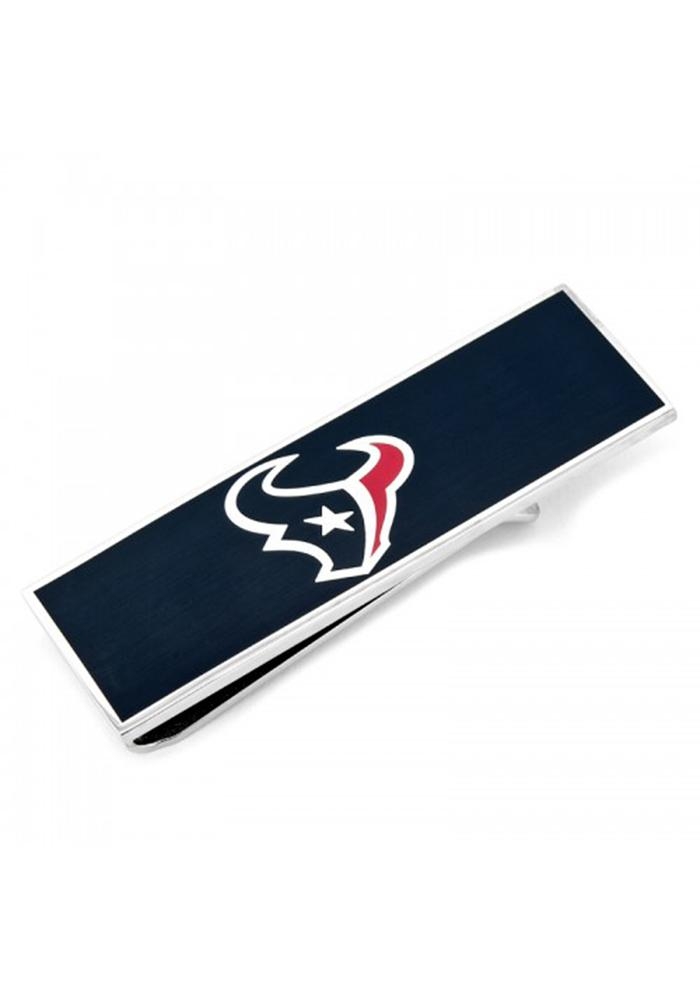 Houston Texans Silver Plated Mens Money Clip - Image 2