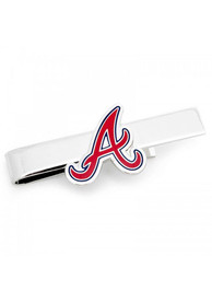 Atlanta Braves Silver Plated Tie Tack