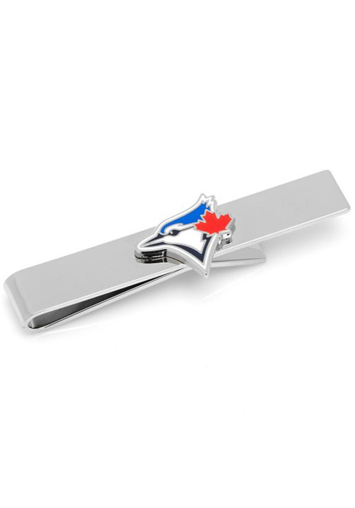 Toronto Blue Jays Silver Plated Mens Tie Tack - Image 1