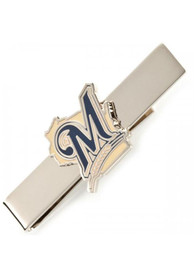 Milwaukee Brewers Silver Plated Tie Tack