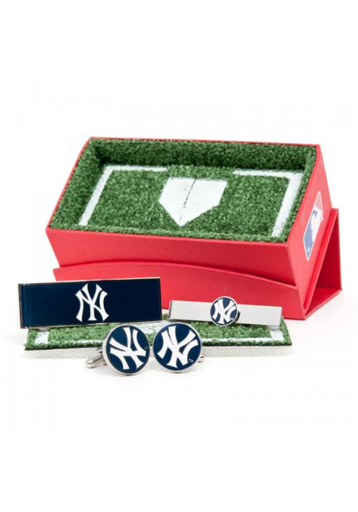 New York Yankees 3 Piece Mens Cufflinks - Image 2