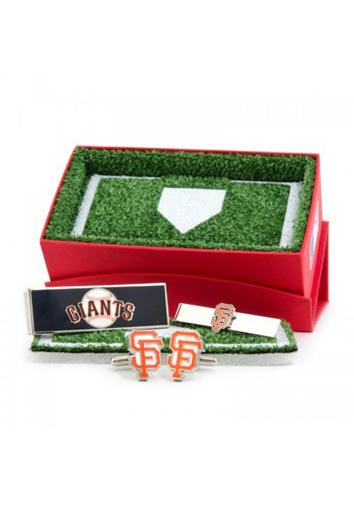 San Francisco Giants 3 Piece Mens Cufflinks - Image 2