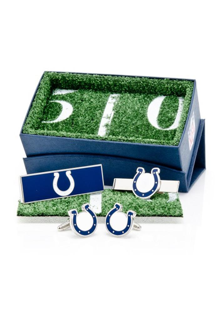 Indianapolis Colts 3 Piece Mens Cufflinks - Image 2