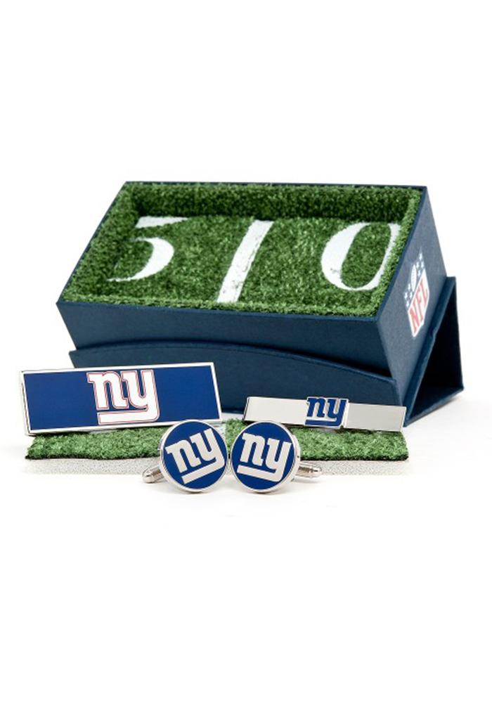 New York Giants 3 Piece Mens Cufflinks - Image 2