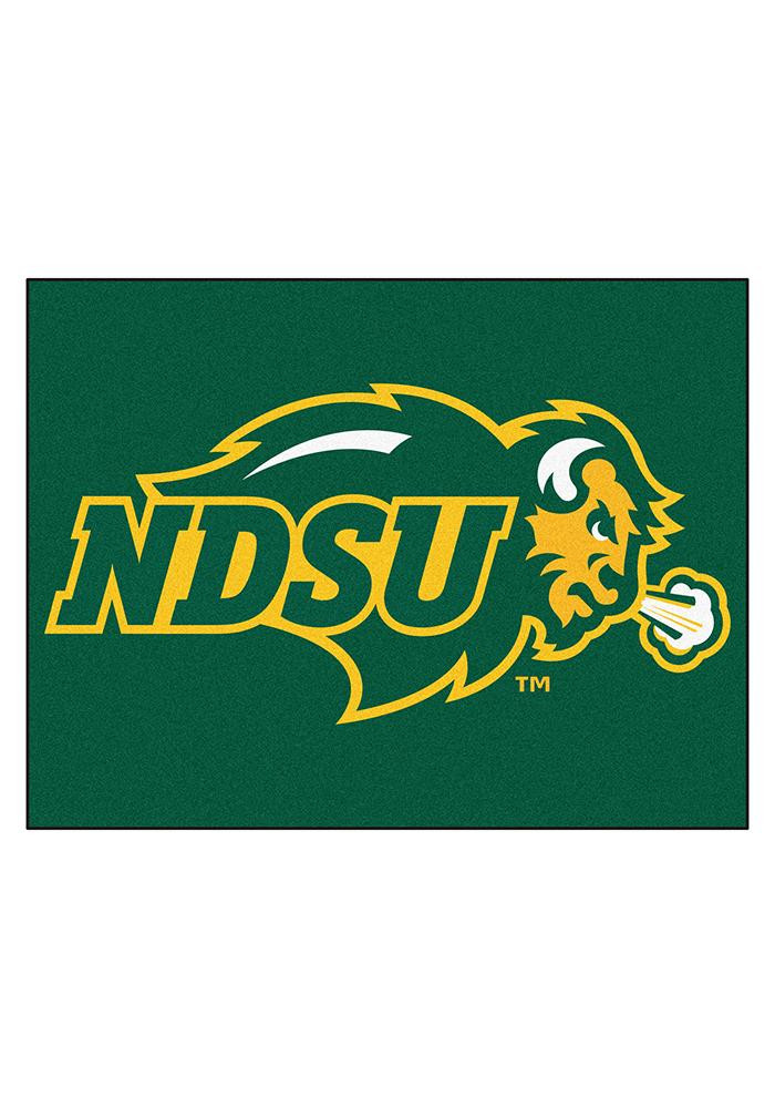 North Dakota State Bison 34x45 All Star Interior Rug - Image 1