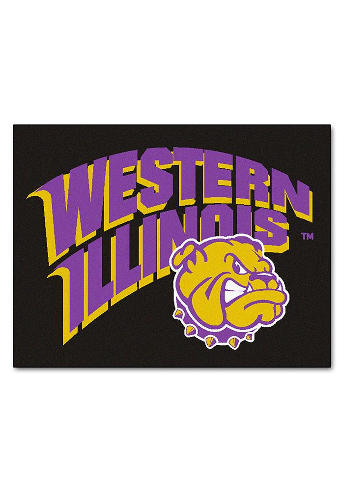 Western Illinois 34x45 All Star Interior Rug - Image 1