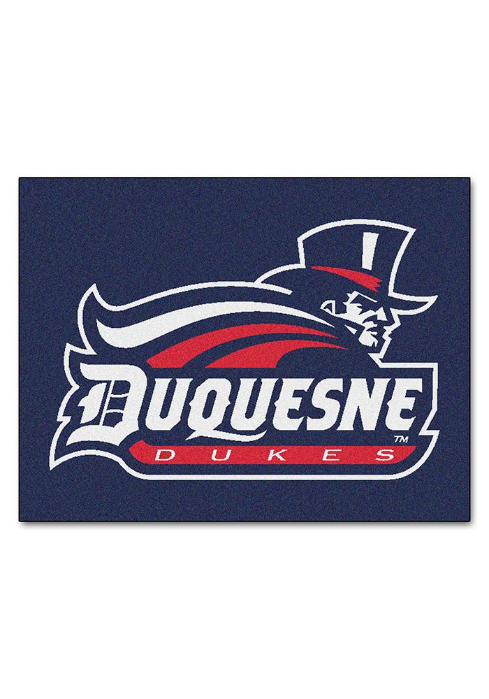 Duquesne Dukes 34x45 All Star Interior Rug - Image 1