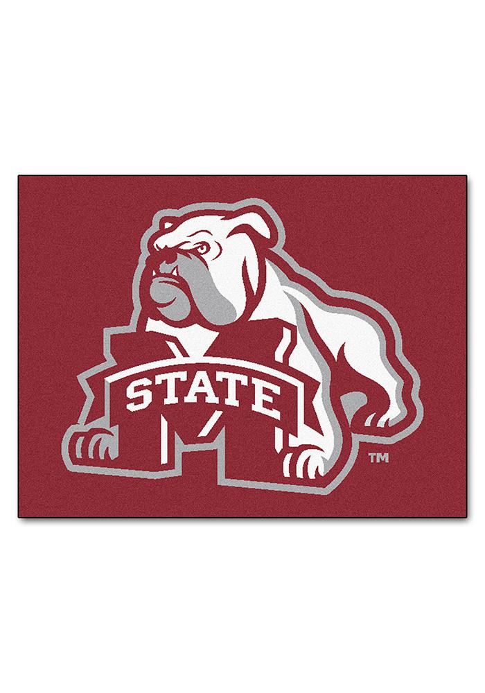 Mississippi State Bulldogs 34x45 All Star Interior Rug - Image 1