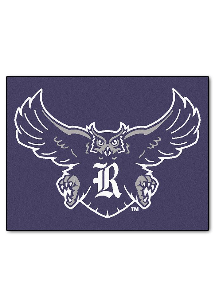 Rice Owls 34x45 All Star Interior Rug - Image 1