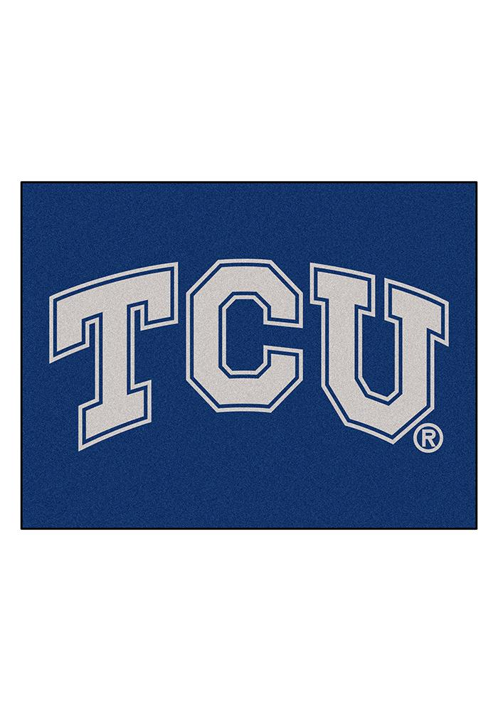 TCU Horned Frogs 34x45 All Star Interior Rug - Image 1