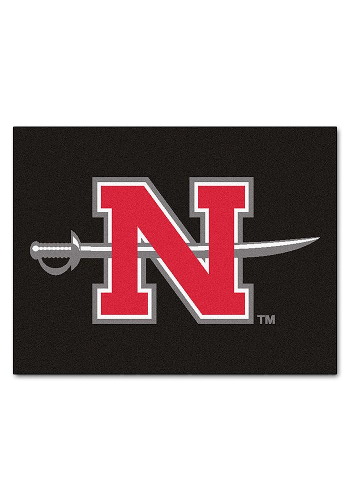 Nicholls State Colonels 34x45 All Star Interior Rug - Image 1