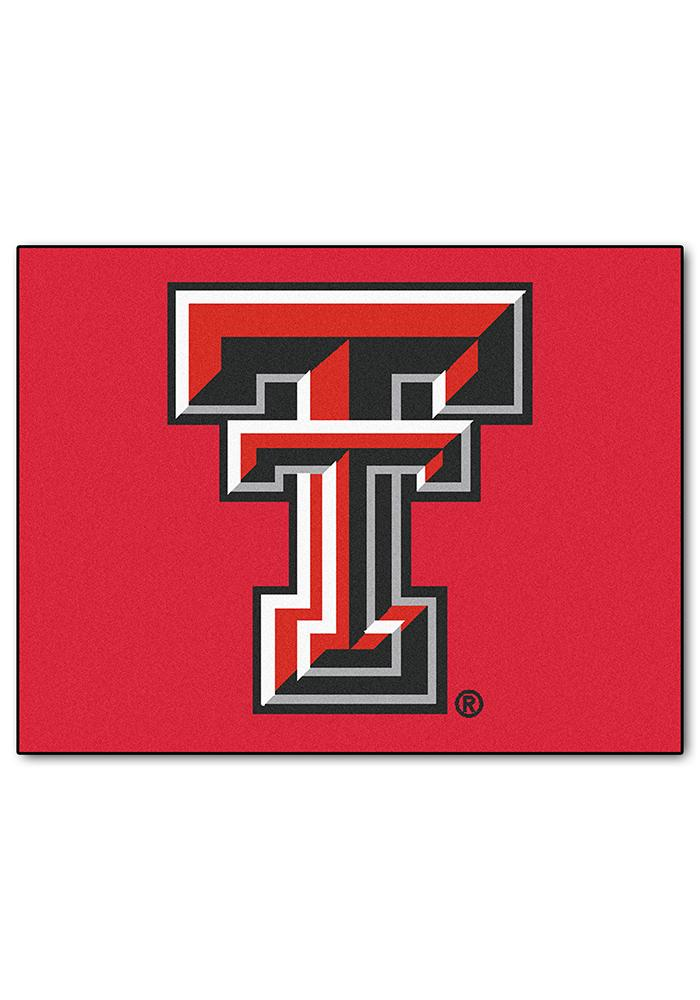 Texas Tech Red Raiders 34x45 All Star Interior Rug - Image 1