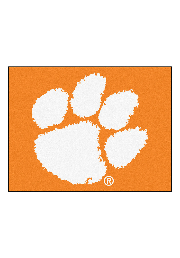 Clemson Tigers 34x45 All Star Interior Rug - Image 1