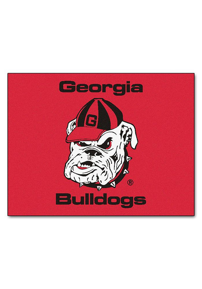 Georgia Bulldogs 34x45 All Star Interior Rug - Image 1