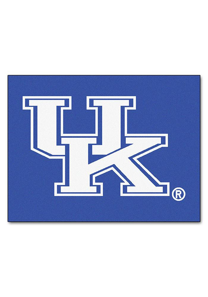 Kentucky Wildcats 34x45 All Star Interior Rug - Image 1