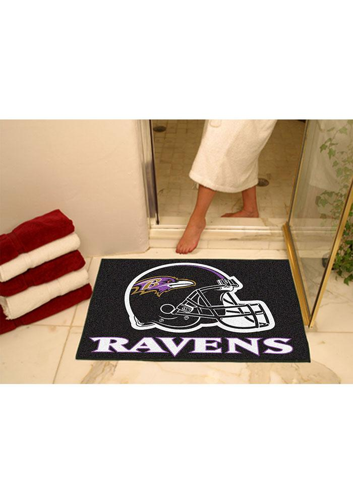 Baltimore Ravens 34x45 All-Star Interior Rug - Image 1