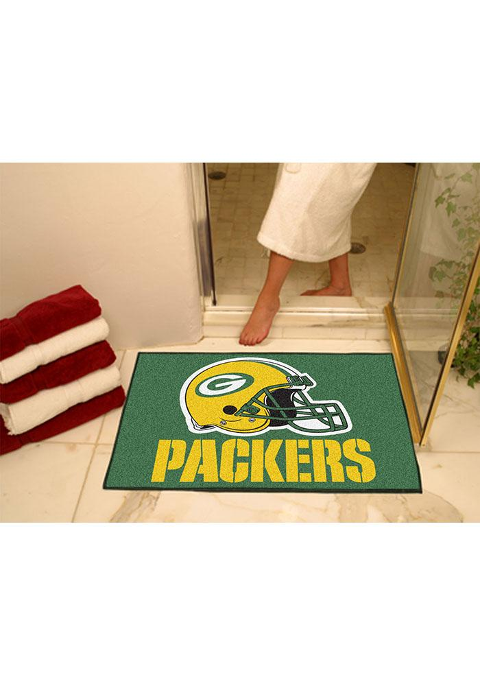 Green Bay Packers 34x45 All-Star Interior Rug - Image 1