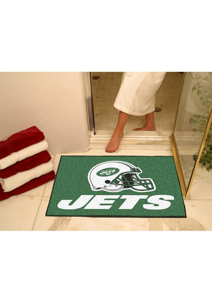 New York Jets 34x45 All-Star Interior Rug - Image 1