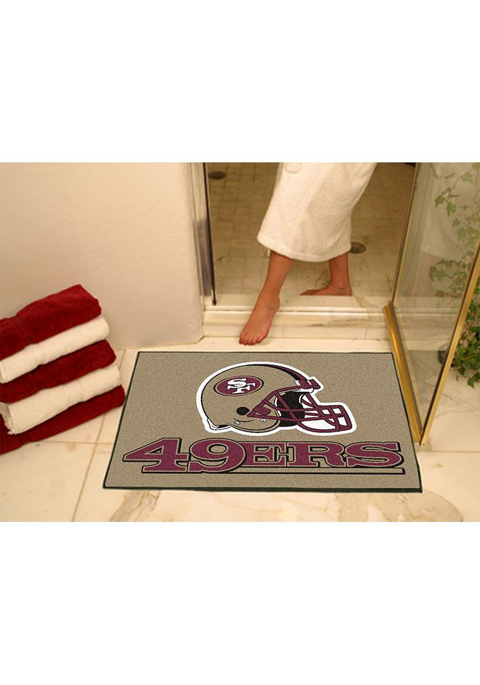 San Francisco 49ers 34x45 All-Star Interior Rug - Image 1