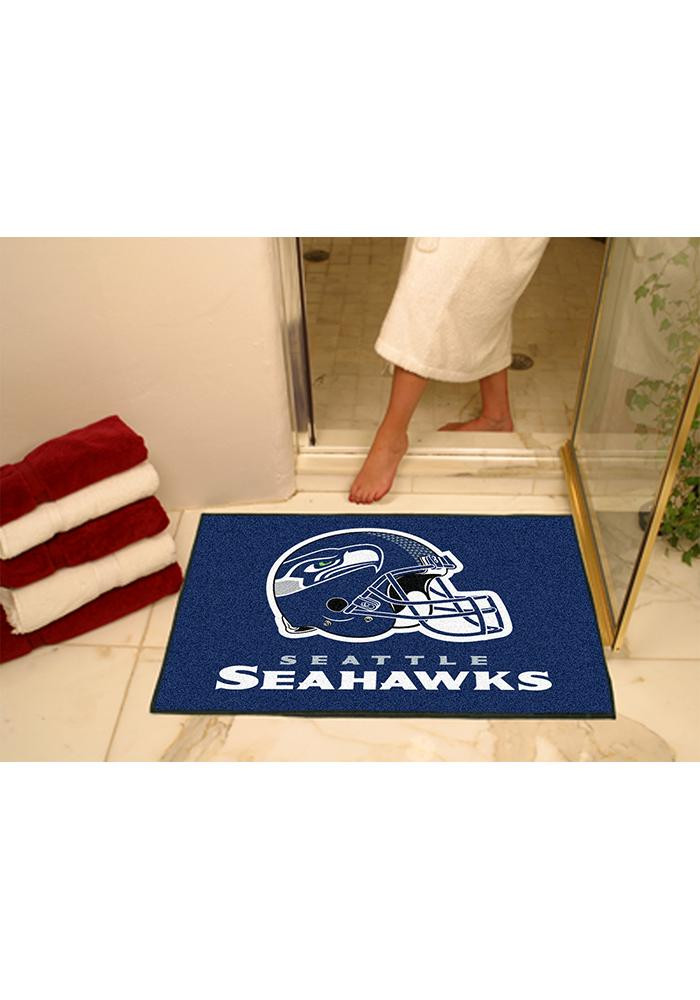 Seattle Seahawks 34x45 All-Star Interior Rug - Image 1