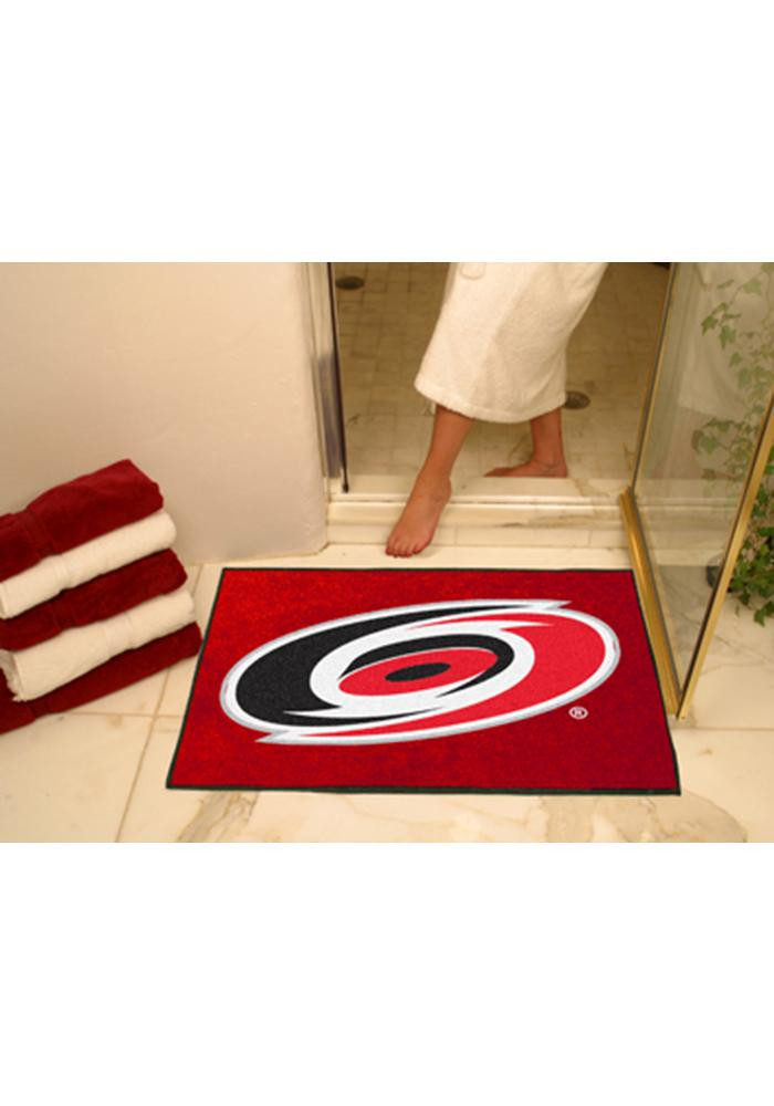 Carolina Hurricanes 34x45 All-Star Interior Rug - Image 1