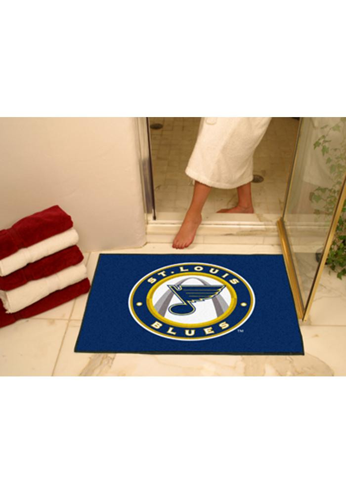 St. Louis Blues 34x45 All-Star Interior Rug - Image 1