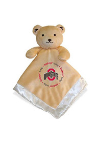 Ohio State Buckeyes Baby Security Bear Blanket - Red