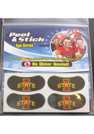 Iowa State Cyclones 2 Pack Eyeblack Tattoo