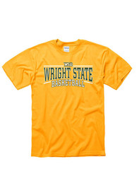Wright State Raiders Gold Linked Tee