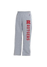 Rutgers Scarlet Knights Youth Grey Powerblend Sweatpants