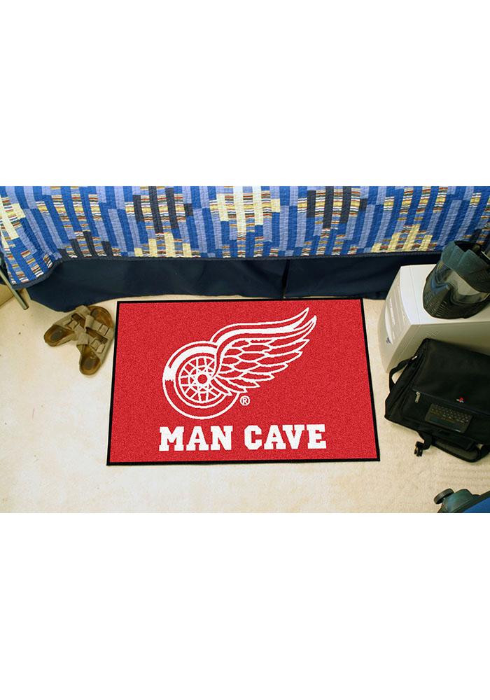 Detroit Red Wings 19x30 Starter Interior Rug - Image 1