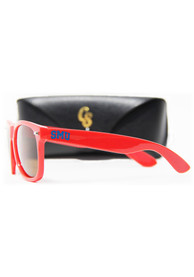 SMU Mustangs Team Color Sunglasses - Red